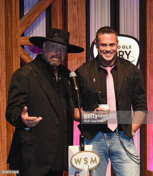 Eddie Montgomery and Troy Gentry attend Jason Aldean's 11th Annual Event Benefitting Susan G Komen As Part of 'Opry Goes Pink' Jason Aldeans 'CONCERT...