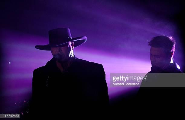Eddie Montgomery and Troy Gentry of Montgomery Gentry