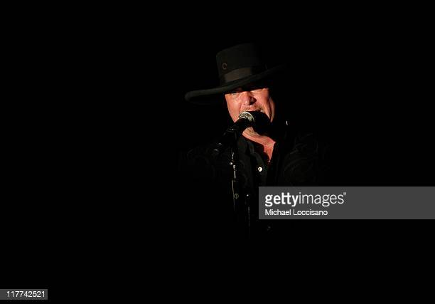 Eddie Montgomery of Montgomery Gentry during Country Takes New York City Montgomery Gentry and Tracy Lawrence Performance at BB King's Blues Club and...
