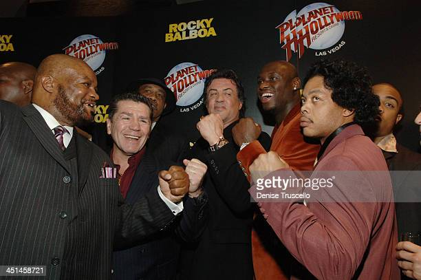 Eddie Muhammed Vito Antufermo Sylvester Stallone Antonio Tarver and Harlan Lonnie Smith