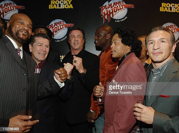 Eddie Muhammed Vito Antufermo Sylvester Stallone Antonio Tarver Harlan Lonnie Smith and Ray Boom Boom Mancini