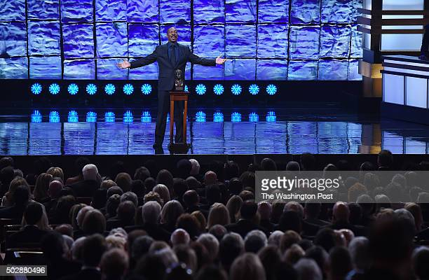 Eddie Murphy accepts the Mark Twain Prize for American Humor at the Kennedy Center that honored Murphy on Sunday October 18 2015 in Washington DC