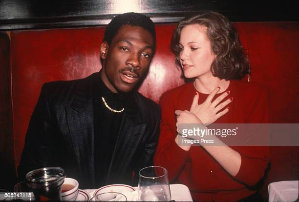 Eddie Murphy and Diane Lane circa 1983 in New York City