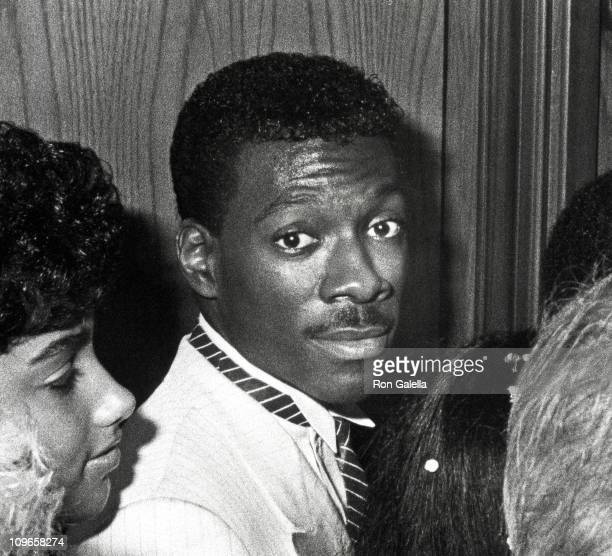 Eddie Murphy and Lisa Figueroa during 1984 MTV Video Music Awards After Party at Tavern on the Green at Tavern on the Green in New York City New York...