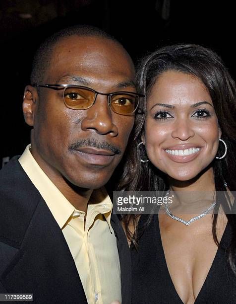 Eddie Murphy and Tracey Edmonds during Our Stories Films Launch Party October 10 2006 at Social in Hollywood California United States