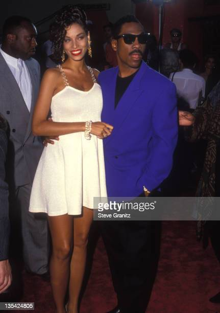 Eddie Murphy and Wife during Eddie Murphy File Photos in los Angeles california United States
