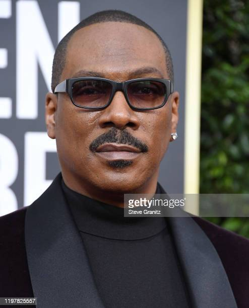 Eddie Murphy arrives at the 77th Annual Golden Globe Awards attends the 77th Annual Golden Globe Awards at The Beverly Hilton Hotel on January 05...