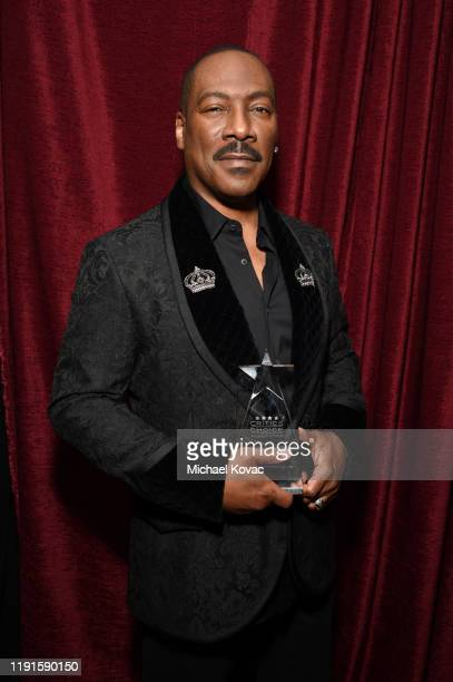 Eddie Murphy attends Critics' Choice Association's Celebration of Black Cinema at Landmark Annex on December 02, 2019 in Los Angeles, California.