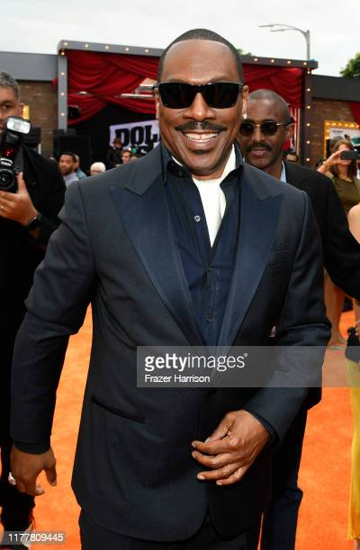 Eddie Murphy attends LA Premiere Of Netflix's Dolemite Is My Name at Regency Village Theatre on September 28 2019 in Westwood California