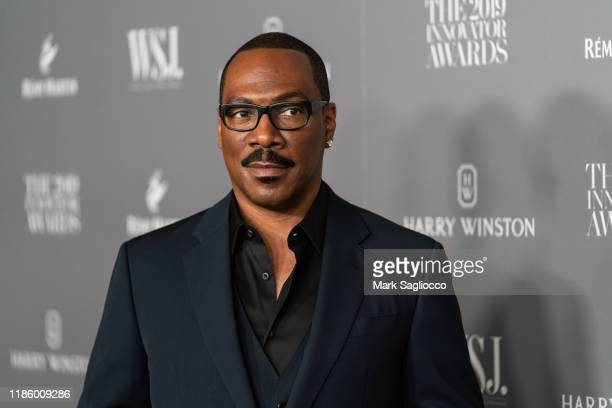 Eddie Murphy attends the WSJ Mag 2019 Innovator Awards at The Museum of Modern Art on November 06, 2019 in New York City.