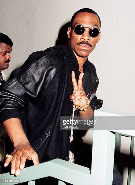 Eddie Murphy during 1993 MTV Movie Awards at Sony Studios in Culver City, California, United States.