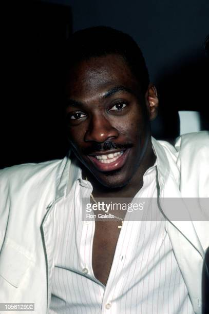 Eddie Murphy during Eddie Murphy Honored for His Role in 'Beverly Hills Cop' October 31 1995 at Paramount Building in New York City New York United...