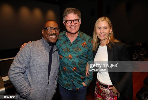 Eddie Murphy John Ross and Nancy Ross attend the Dolemite Is My Name LA AMPAS Hosted Tastemaker at ROSS HOUSE on November 21 2019 in Los Angeles...