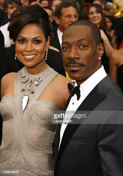 Eddie Murphy nominee Best Actor in a Supporting Role for 'Dreamgirls' and Tracey E Edmonds