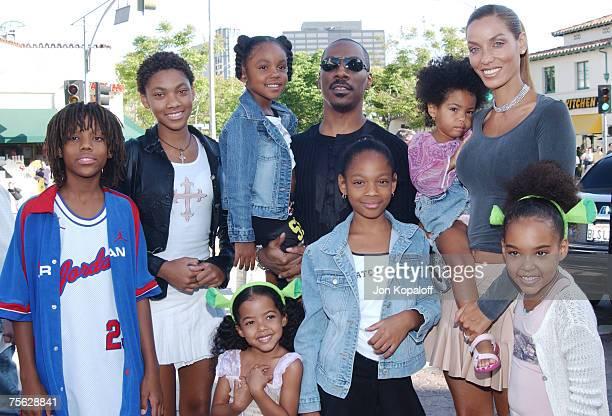 Eddie Murphy wife Nicole and family