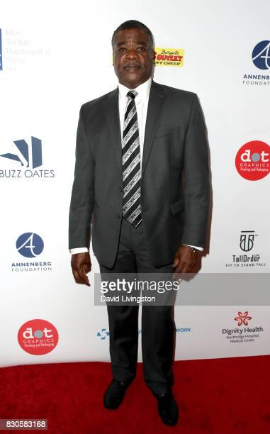 Eddie Murray at the 17th Annual Harold Carole Pump Foundation Gala at The Beverly Hilton Hotel on August 11 2017 in Beverly Hills California