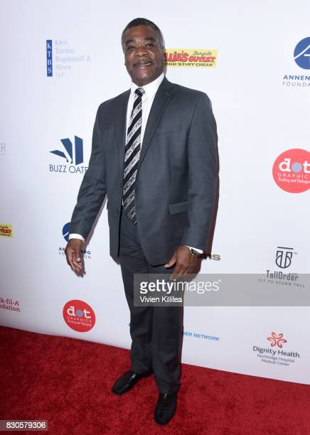 Eddie Murray attends the 17th Annual Harold Carole Pump Foundation Gala at The Beverly Hilton Hotel on August 11 2017 in Beverly Hills California