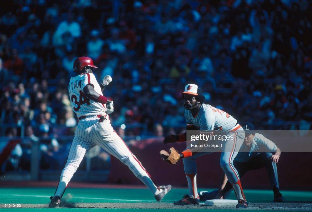 1983 World Series : Fotografía de noticias