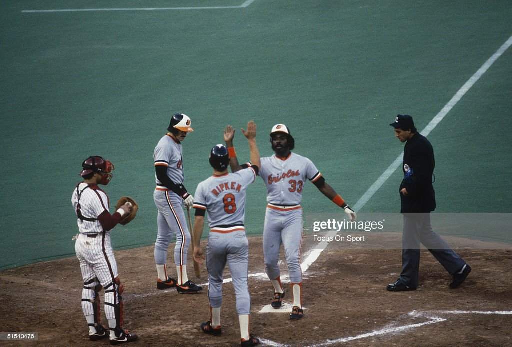 1983 World Series : News Photo