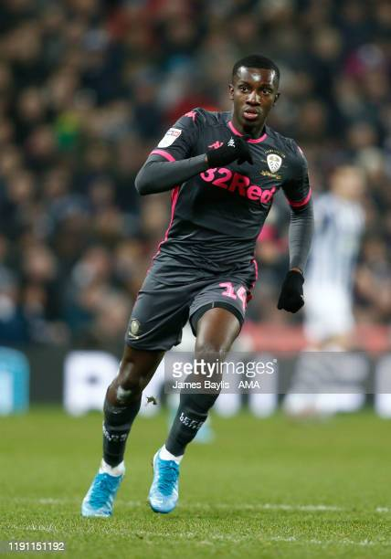 Eddie Nketiah of Leeds United during the Sky Bet Championship match between West Bromwich Albion and Leeds United at The Hawthorns on January 1 2020...