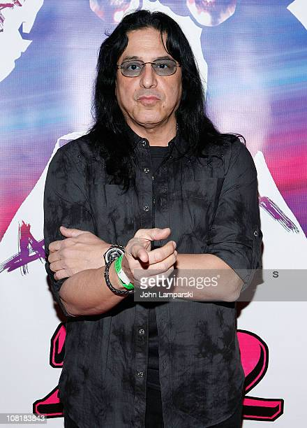 Eddie Ojeda of Twisted Sister attends the Rock With the Music Rock the Fashion Rock for the Future Rock Asylum event at Canal Room on January 19 2011...
