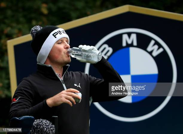 Eddie Pepperell of England during Day Three of the BMW PGA Championship at Wentworth Golf Club on October 10 2020 in Virginia Water England