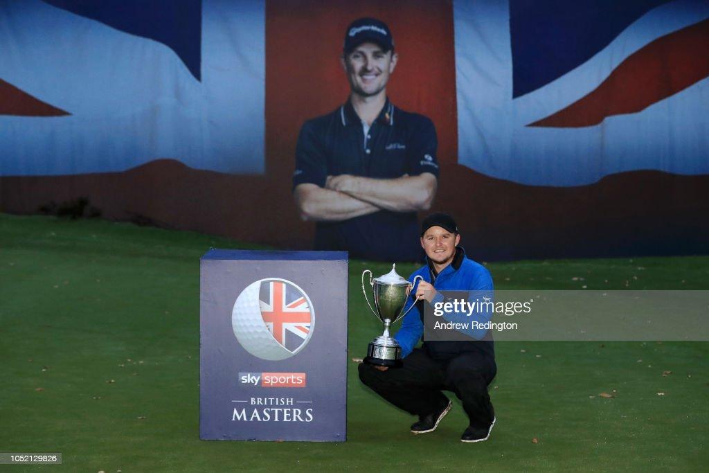 Sky Sports British Masters - Day Four : News Photo