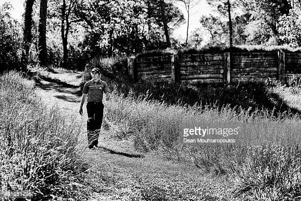 Eddie Pepperell of England walks off the 4th hole tee during Day 2 of the Open de Espana held at PGA Catalunya Resort on May 16 2014 in Girona Spain
