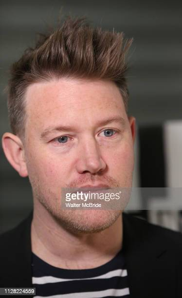 Eddie Perfect attends Broadway's 'Beetlejuice' First Look Photo Call at Subculture on February 28 2019 in New York City