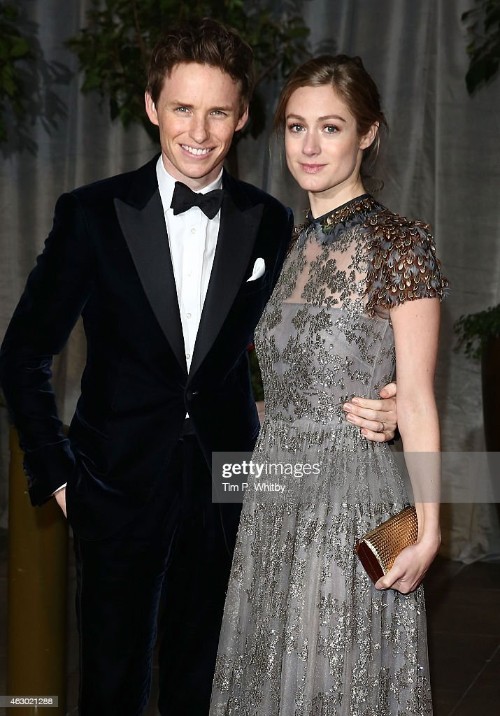 Eddie Redmayne and Hannah Bagshawe attend the after party for the EE British Academy Film Awards at The Grosvenor House Hotel on February 8, 2015 in London, England.