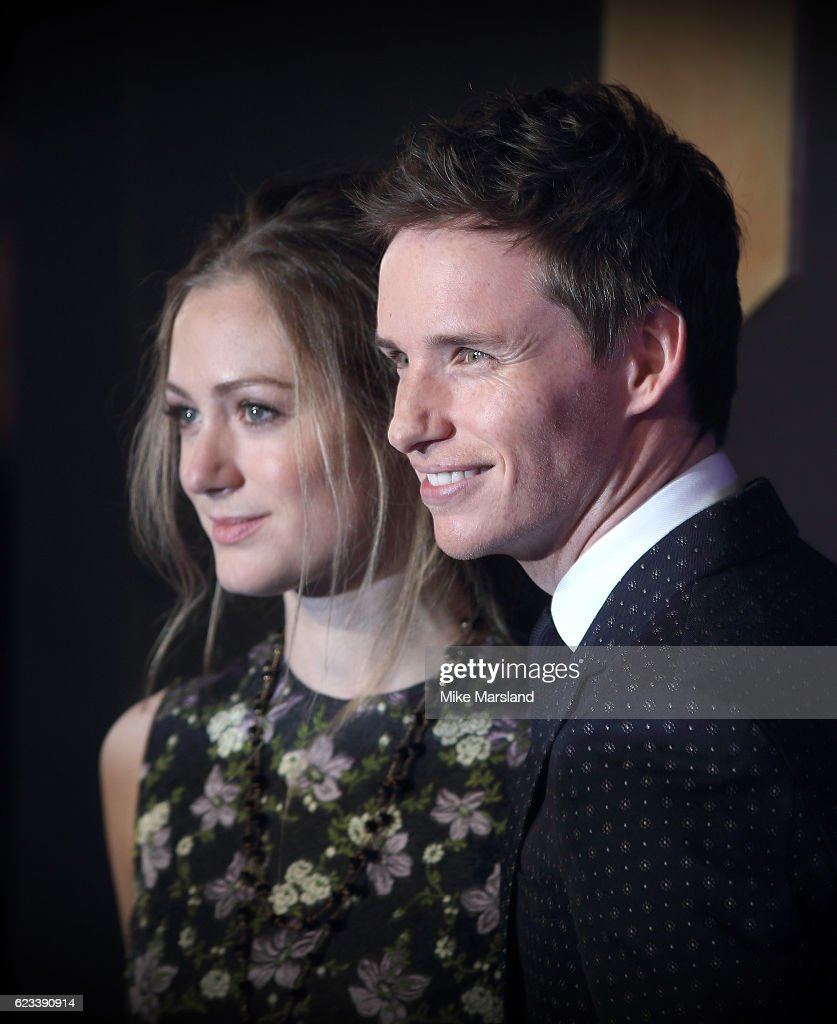Eddie Redmayne and Hannah Bagshawe attend the European premiere of 'Fantastic Beasts And Where To Find Them' at Odeon Leicester Square on November 15, 2016 in London, England.