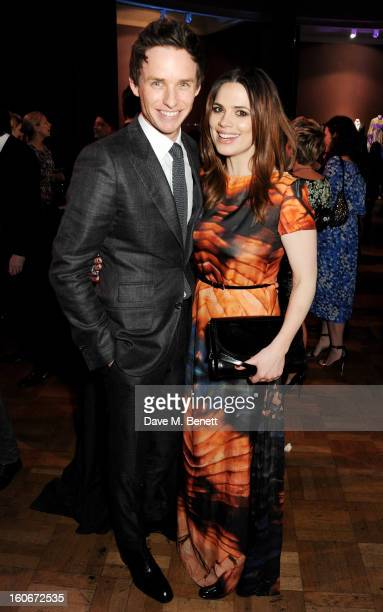 Eddie Redmayne and Hayley Atwell attend the London Evening Standard British Film Awards supported by Moet Chandon and Chopard at the London Film...