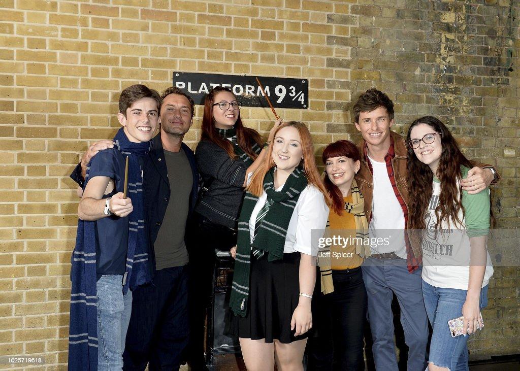 Fantastic Beasts - 'Back To Hogwarts' Day Celebration : News Photo