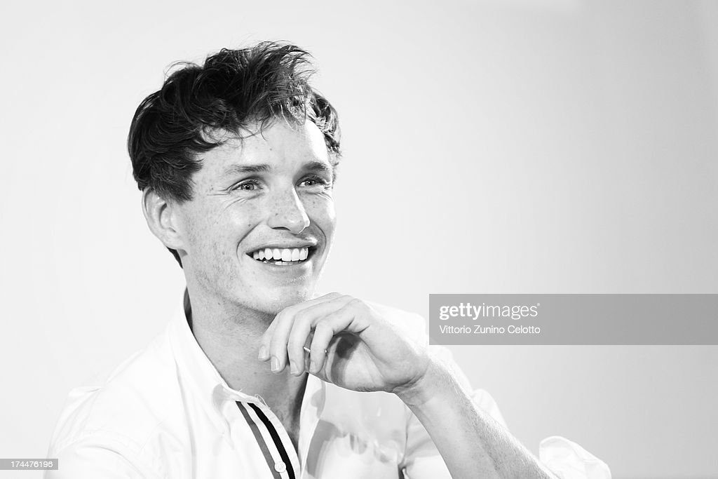 Eddie Redmayne attends 2013 Giffoni Film Festival press conference on July 26, 2013 in Giffoni Valle Piana, Italy.