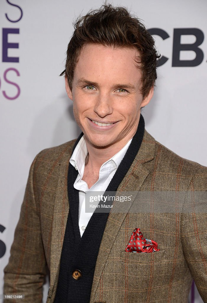 Eddie Redmayne attends the 2013 People's Choice Awards at Nokia Theatre L.A. Live on January 9, 2013 in Los Angeles, California.