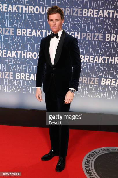 Eddie Redmayne attends the 7th Annual Breakthrough Prize Ceremony at NASA Ames Research Center on November 4 2018 in Mountain View California