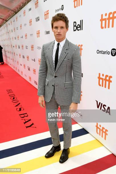 Eddie Redmayne attends The Aeronauts premiere during the 2019 Toronto International Film Festival at Roy Thomson Hall on September 08 2019 in Toronto...