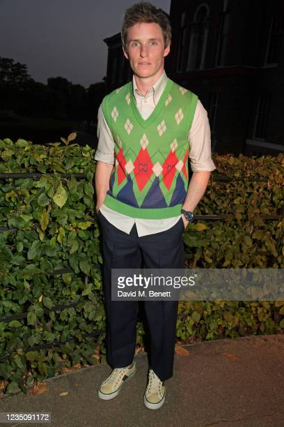 Eddie Redmayne attends the ATG Summer Party hosted by Ambassador Theatre Group CEO Mark Cornell and Sienna Miller in support of Sir Sam Mendes and...