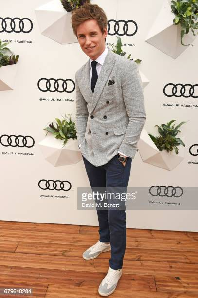 Eddie Redmayne attends the Audi Polo Challenge at Coworth Park on May 6 2017 in Ascot United Kingdom