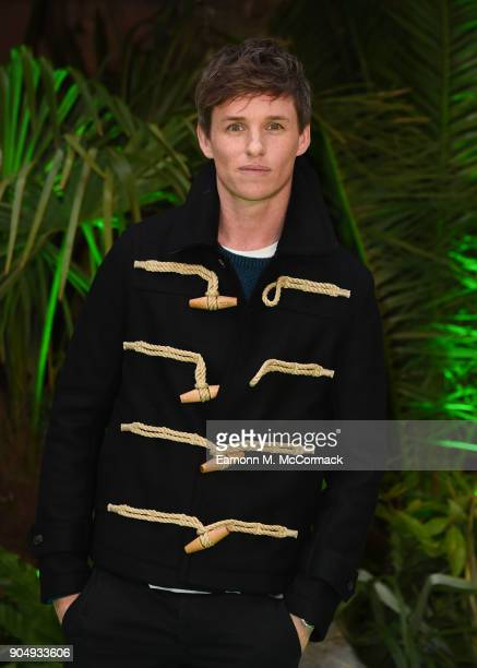 Eddie Redmayne attends the 'Early Man' World Premiere held at BFI IMAX on January 14 2018 in London England