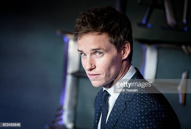 Eddie Redmayne attends the European premiere of Fantastic Beasts And Where To Find Them at Odeon Leicester Square on November 15 2016 in London...
