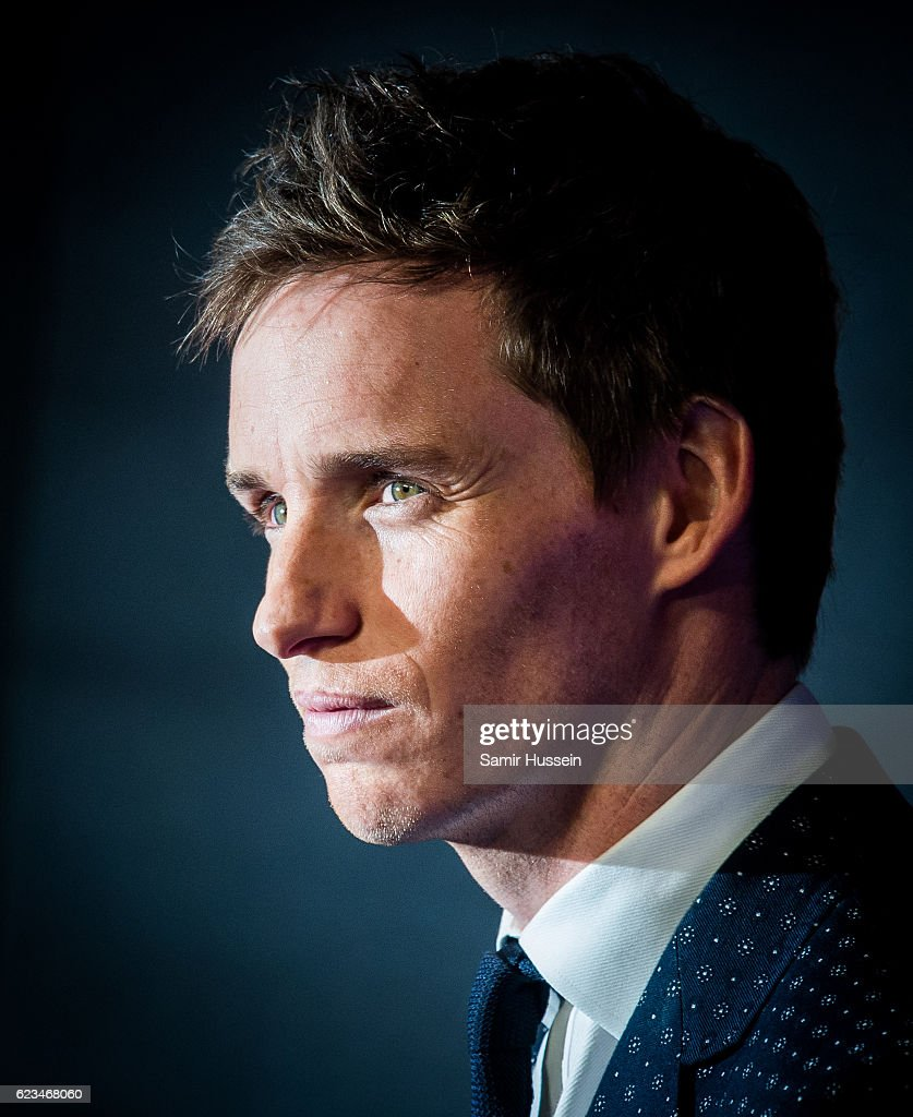 Eddie Redmayne attends the European premiere of 'Fantastic Beasts And Where To Find Them' at Odeon Leicester Square on November 15, 2016 in London, England.