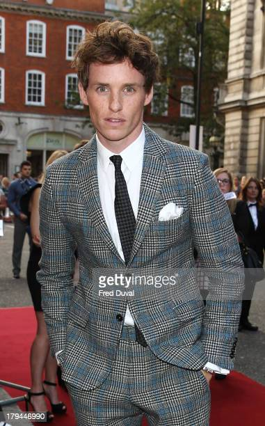 Eddie Redmayne attends the GQ Men of the Year awards at The Royal Opera House on September 3 2013 in London England