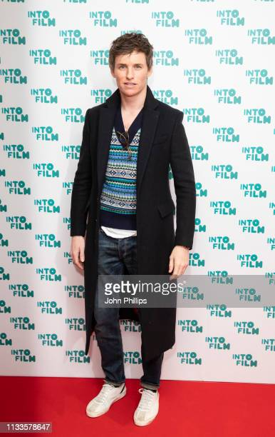 Eddie Redmayne attends the Into Film Award 2019 at Odeon Luxe Leicester Square on March 04 2019 in London England