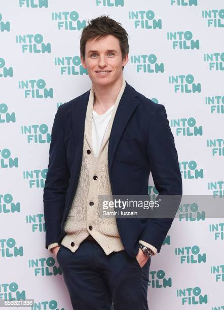 Eddie Redmayne attends the Into Film Awards on March 14 2017 in London United Kingdom