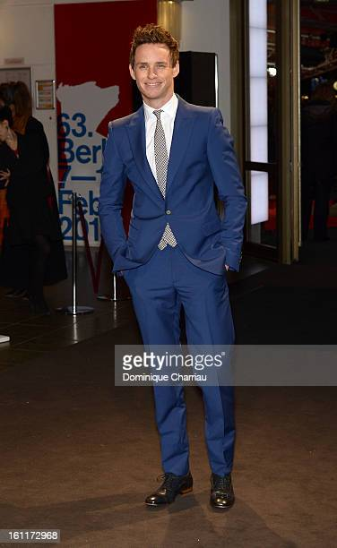 Eddie Redmayne attends the 'Les Miserables' Premiere during the 63rd Berlinale International Film Festival at the Friedrichstadtpalast on February 9...