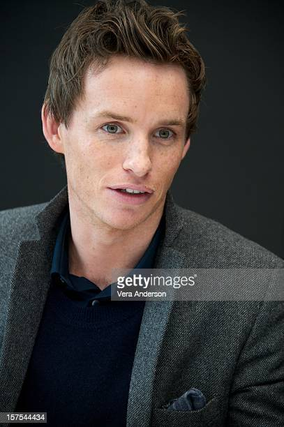 """Eddie Redmayne attends the """"Les Miserables"""" press conference at the Ritz Carlton Hotel on December 3, 2012 in New York City."""