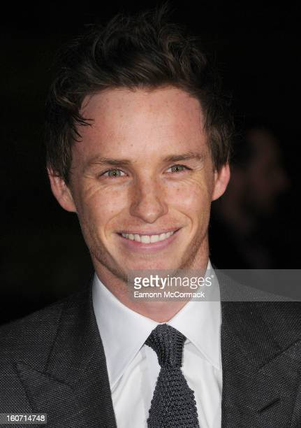 Eddie Redmayne attends the London Evening Standard British Film Awards at the London Film Museum on February 4 2013 in London England