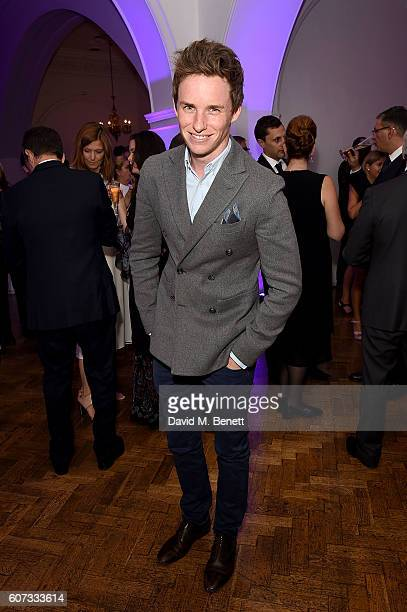 Eddie Redmayne attends the Lumos Fundraiser in aid of JK Rowling's international nonprofit organization Lumos on September 17 2016 in London England