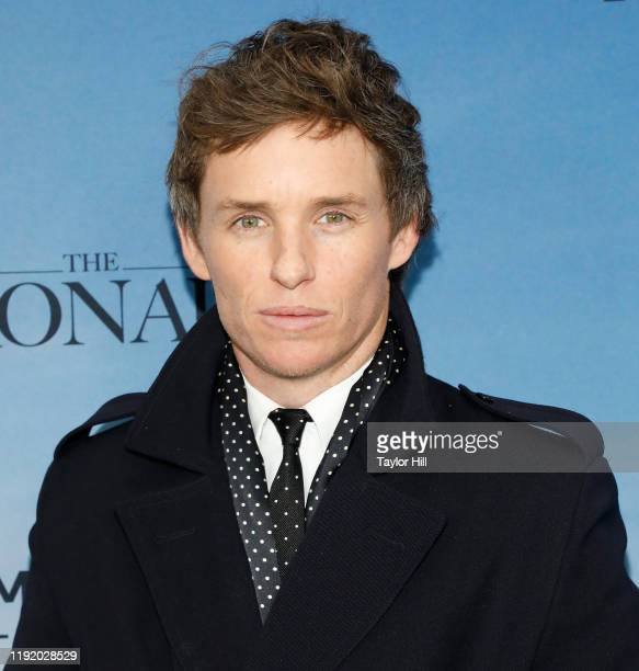 """Eddie Redmayne attends the premiere of """"The Aeronauts"""" at SVA Theater on December 04, 2019 in New York City."""